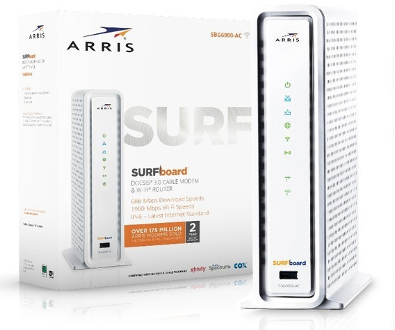 Cable Modem Router Intercable Inter Wifi Arris Sbg6900 Nuevo