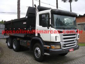 Scania P340 2011/2011 6x4 Basculante Caçamba Rosseti 14m³