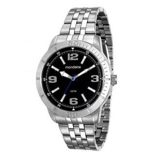 Relógio Analógico Masculino Mondaine Prateado 99191gomvne1