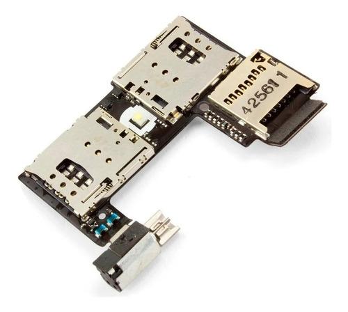 Imagen 1 de 1 de Flex Lectora Sim Memoria Motorola G2 Dual Sim Xt 1068