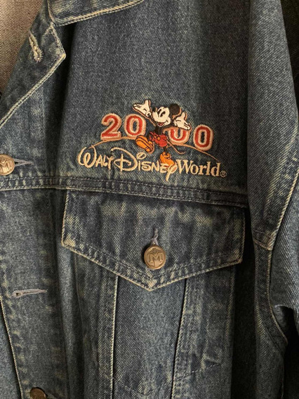 Campera De Jeans Walt Disney World 2000 Vintage Original