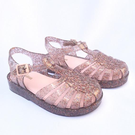 Mini Melissa Possession Glitter Misto/rosa