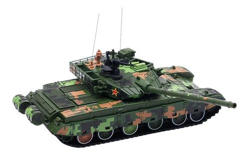 Diecast Alloy Exército Verde Blindado Tanque 1:72 107
