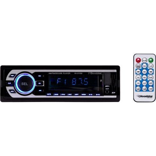 Auto Rádio Usb/sd/aux/fm/am Rs-2707br Roadstar