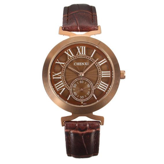 Relógios Casual Negócio Unisex Chenxi Para Relógios Para Mas