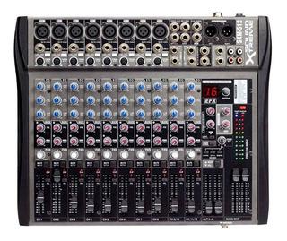 Consola Mixer 12 Canales Soundxtreme Sxm512 16 Con Efect Cjf