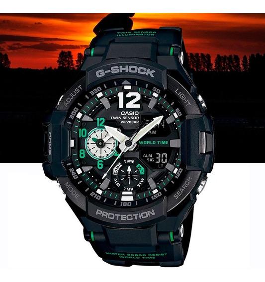Relógio Casio G-shock Masculino Gravity Master Ga-1100-1a3dr