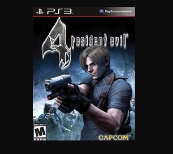 Resident Evil 4 Hd - Psn - Ps3- ***promoção*** Digital