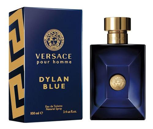 Imagen 1 de 3 de Versace Dylan Blue  Caballero 100ml Edt Envio Gratis