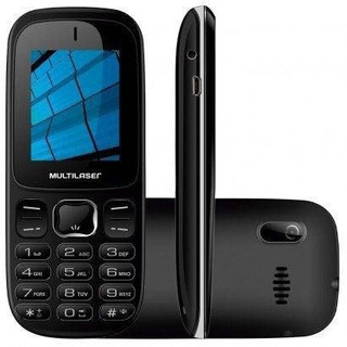 Celular Multilaser Up P9017 Preto 3g Dual Chip Bluetooth Mp3