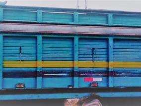 Carroceria De Madera De Mitsubishi Fuso Canter Camion