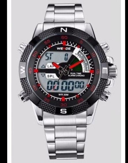 Relógio Multifunções Esportes / Militar Weide 1104 Original