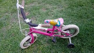 Bicicleta Rodado 12 Niña Pequeñita Excelente Estado