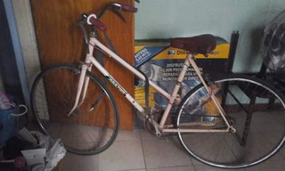 Bici Rosa De Dama 1/2 Carrera