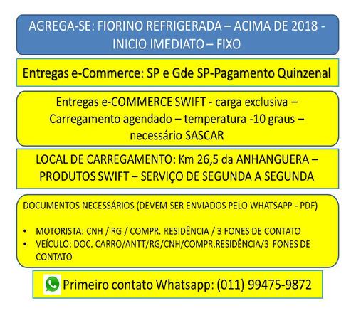 Agrega-se Refrigerado -fiorino / / Iveco / Delivery / 3/4