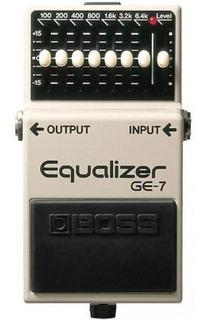 Pedal Ecualizador Para Guitarra Boss Ge-7 Equalizer