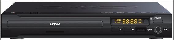Dvd Player Com Entrada Usb - Karaoke + Controle Kp-d103 Knup