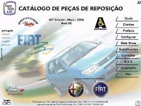 Catálogo Eletrônico De Peças Fiat 30 Anos 2006