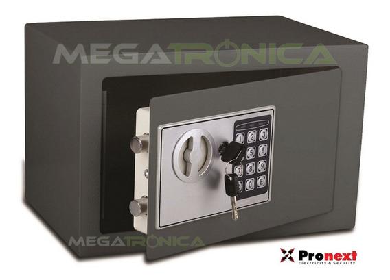 Caja Fuerte De Seguridad 31x20x20cm Digital Box 310 En Acero