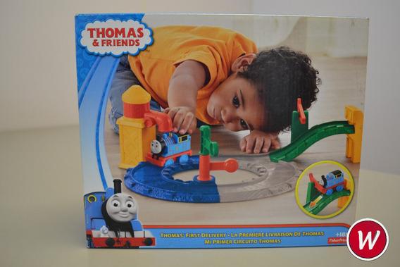 Thomas & Friends Minha Primeira Ferrovia Fischer Price Bcx80