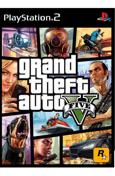 Gta 5 V Para Playstation 2 Ps2 + Super Brinde!