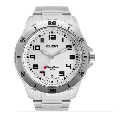 Relógio Orient Prateado Masculino Mbss1155as2sx