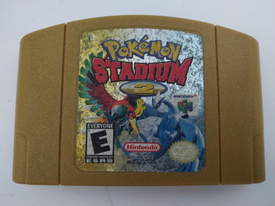 Pokemon Stadium 2 Nintendo 64 N64 Original Americana Salva