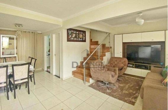 Casa Com 3 Dormitórios À Venda, 90 M² Por R$ 499.000 - Parque Rural Fazenda Santa Cândida - Campinas/sp - Ca13872