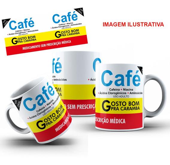 Caneca Porcelana Personalizada Café 325 Ml + Caixinha