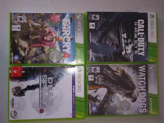 Juegos Xbox 360 $1000 C/u