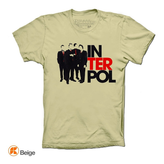 Interpol Playeras Shadows Skiddaw T-shirts