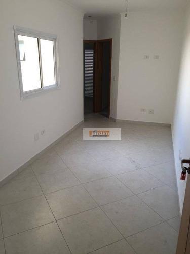 Imagem 1 de 15 de Apartamento Residencial À Venda, Vila Scarpelli, Santo André. - Ap4088