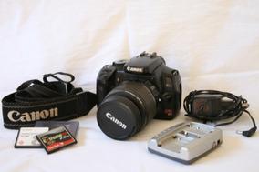Câmera Fotográfica Canon Rebel Xti 450d