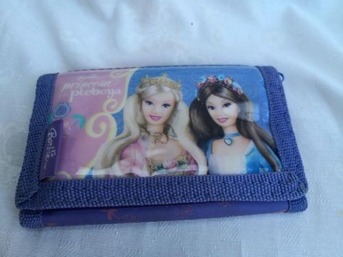 1 Billetera De Barbie  Tela Y Cuerina