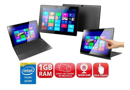 Netbook Cce F10-30 Intel Atom 16gb Webcam Win8 + Office 2016