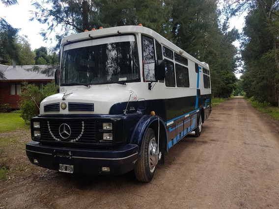 Motorhome Mercedes Benz 1114 Mecanica 1518 Impecable Unico