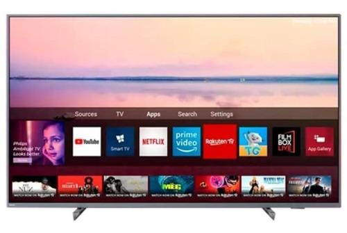 Imagem 1 de 6 de Smart Tv Philips 55 55pug6794/78 4k Ambilight Hdr Dolby Atmo