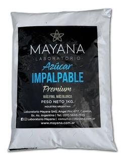 Azucar Impalpable Mayana X 1 Kg Premium Mas Fina Y Blanca