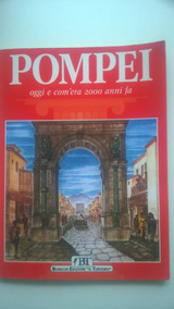 Livro Pompei Oggi E Com