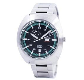 Relógio Seiko Automatico Masculino Prateado Ssa283b1 Pfsx