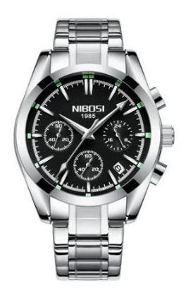 Relógio Nibosi Masculino Social Homem Modelo 2310 Importado
