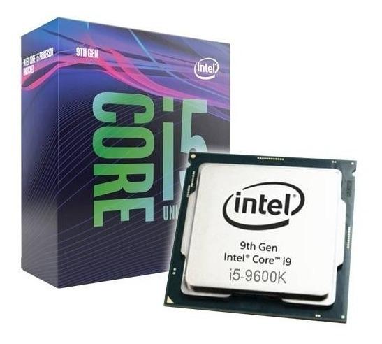 Processador Intel Core I5-9600k 3.70 9mb Lga 1151 95w
