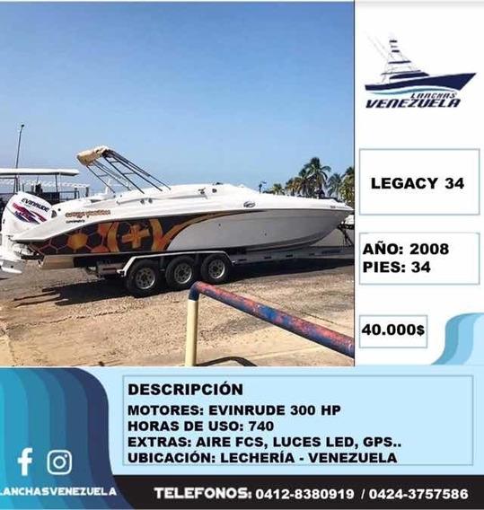Lancha Legacy 34 Lv64