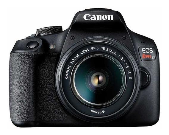 Câmera Canon Rebel T7+cartão 64 Gb