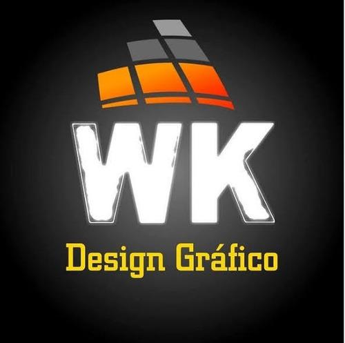 Imagem 1 de 8 de Designer Gráfico - Design Gráfico - Arte Gráfica - Logomarca