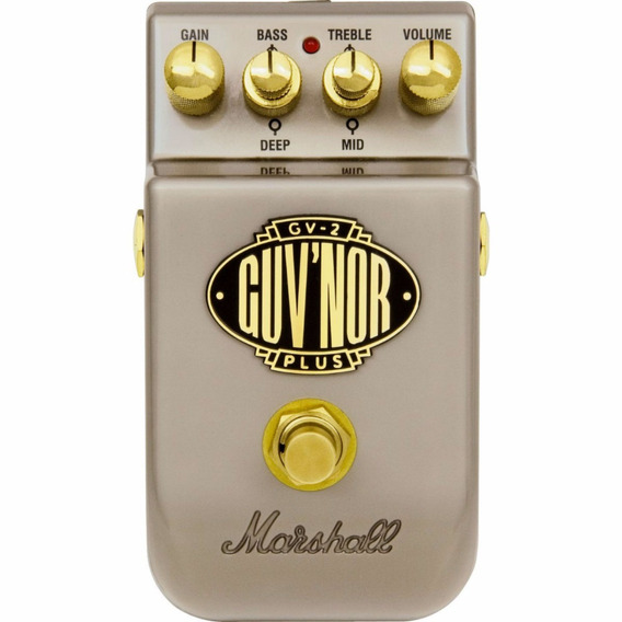 Pedal Marshall Guvnor Plus Gv 2 Pedl 10025