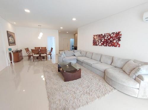 Apartamento Com 4 Suítes À Venda, 276 M² Por R$ 1.650.000 - Pitangueiras - Guarujá/sp - Ap11619