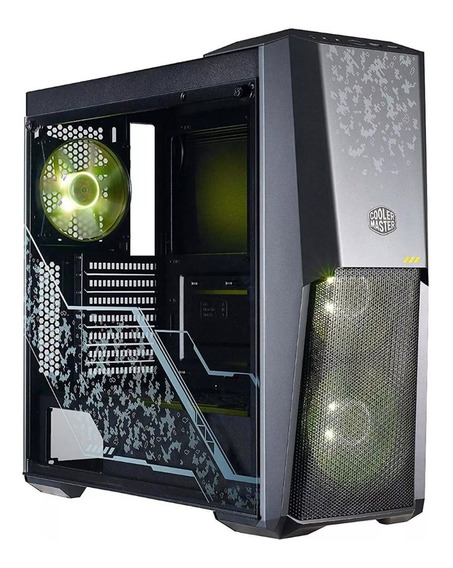 Gabinete Gamer Pc Cooler Master Masterbox Mb500 Tuf Rgb