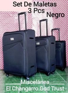 Juego De Tres Maletas Para Viaje.