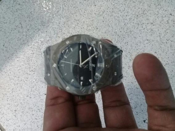 Relógio Hublot De Alta Qualidade Pulseira Em Couro.